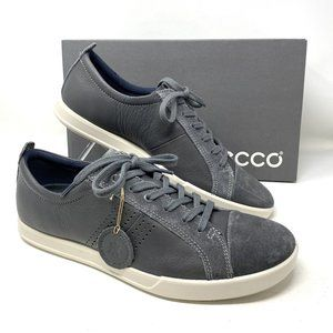 ECCO Collin 2.0 Lace Grey Leather Men's Sneakers